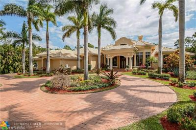 Coral Springs FL Single Family Home For Sale: $1,060,000