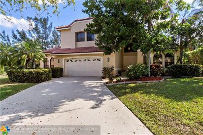 Coral Springs Single Family Home For Sale: 4640 Rothschild Dr
