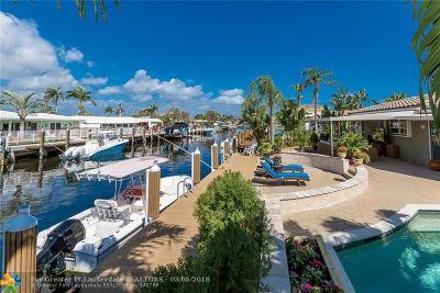 Pompano Beach Single Family Home For Sale: 491 SE 10th Ave