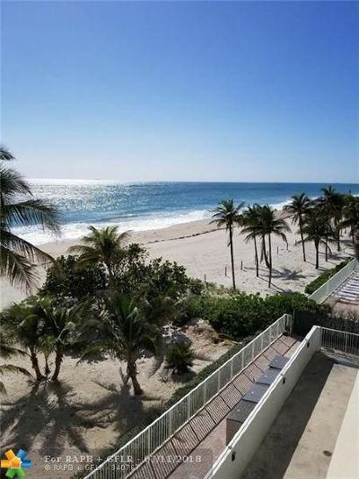 Pompano Beach Condo/Townhouse For Sale: 812 Briny Av #4D