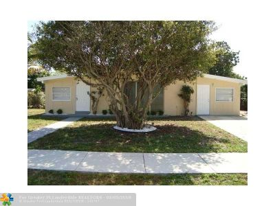 Deerfield Beach Single Family Home Backup Contract-Call LA: 242 NE 42nd St