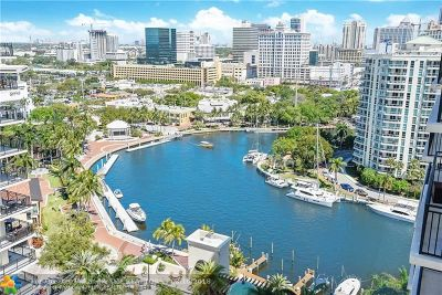 Fort Lauderdale Condo/Townhouse For Sale: 600 W Las Olas Bl #1803S