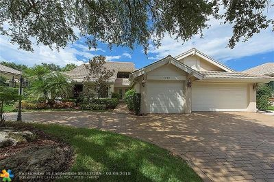 Coral Springs Single Family Home For Sale: 1835 Eagle Trace Blvd