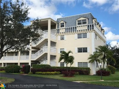 Coral Springs Condo/Townhouse For Sale: 3475 Brokenwoods Dr #108