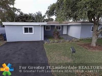 Wilton Manors Single Family Home For Sale: 7 NE 29th St