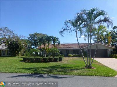 Pompano Beach Single Family Home For Sale: 3100 Estates Dr