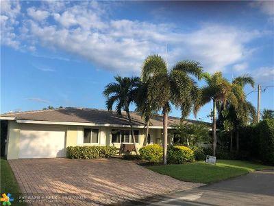 Pompano Beach Single Family Home For Sale: 1030 NE 27th Ave