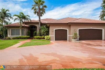 Davie Single Family Home For Sale: 2681 SW 136th Ave
