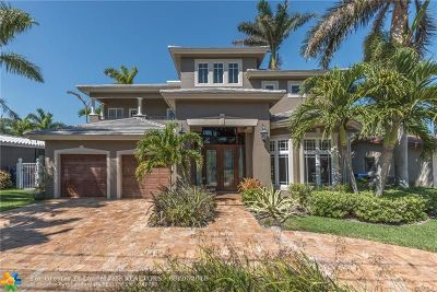 Fort Lauderdale Single Family Home For Sale: 1781 NE 21st St