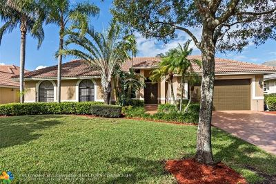 Coral Springs Single Family Home For Sale: 12677 Classic Drive
