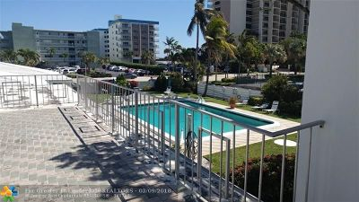 Lauderdale By The Sea Condo/Townhouse For Sale: 1751 S Ocean Blvd #206