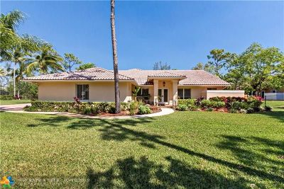 Parkland Single Family Home For Sale: 6750 NW 63 Way