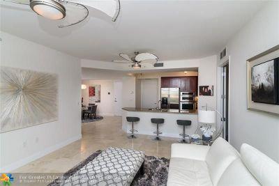 Condo/Townhouse For Sale: 2501 N Ocean Blvd #452
