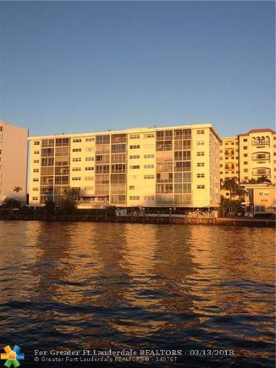 Pompano Beach Condo/Townhouse For Sale: 303 N Riverside Dr #405