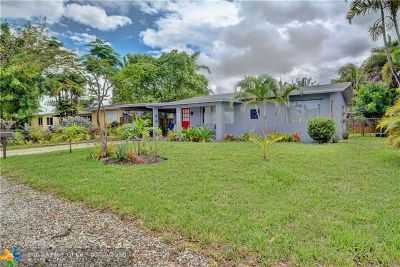 Wilton Manors Single Family Home For Sale: 2916 NW 6th Ave