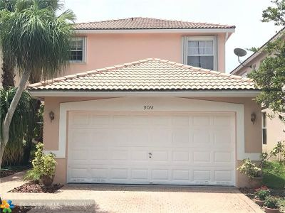 Coral Springs Single Family Home For Sale: 9728 NW 1st Mnr