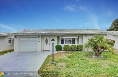 Boynton Beach Single Family Home Backup Contract-Call LA: 1010 SW 15th Street