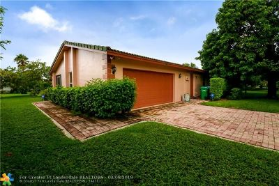 Coral Springs Single Family Home For Sale: 10940 NW 24th St