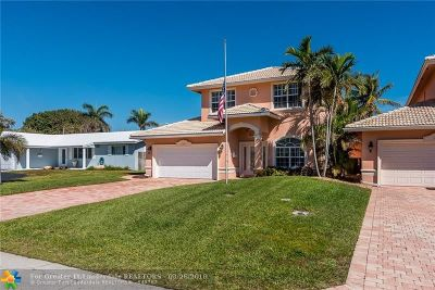 Pompano Beach FL Single Family Home For Sale: $695,500