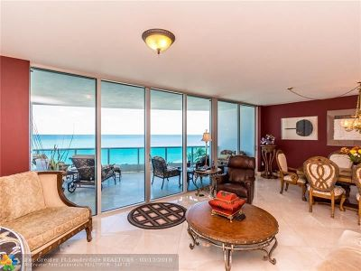 Condo/Townhouse For Sale: 1600 S Ocean Blvd #403