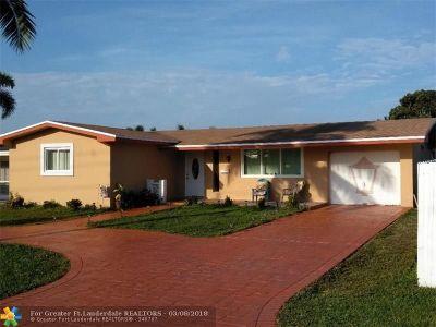 Pembroke Pines Single Family Home Backup Contract-Call LA: 1310 NW 85th Way