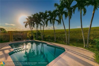Coral Springs Single Family Home For Sale: 5546 NW 125th Ter