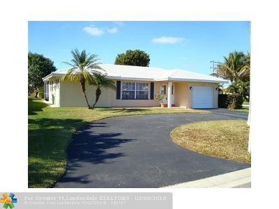 Tamarac Single Family Home Backup Contract-Call LA: 8207 NW 105th Ave