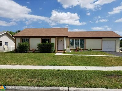 Margate Single Family Home For Sale: 780 SW 55th Ave