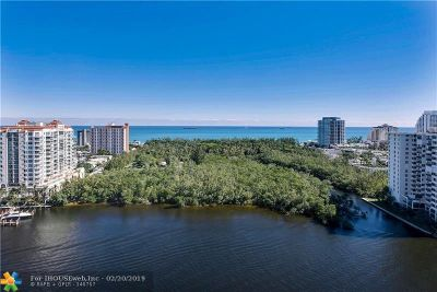 Fort Lauderdale Condo/Townhouse For Sale: 920 Intracoastal Drive #PH2