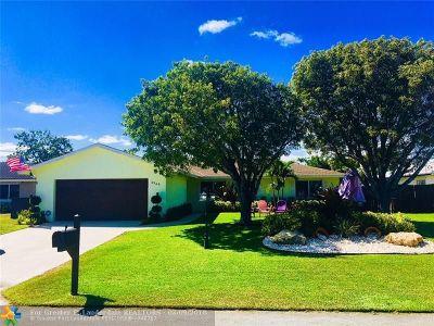 Boynton Beach Single Family Home Backup Contract-Call LA: 2545 SW 14th St
