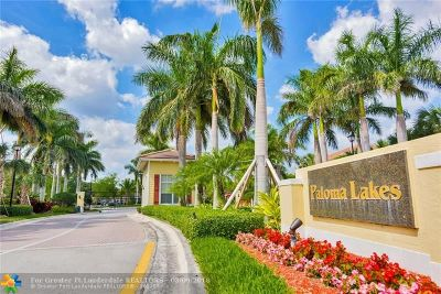 Coconut Creek Condo/Townhouse For Sale: 4778 Sierra Ln #4778
