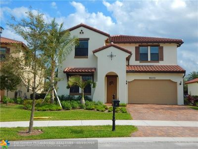 Parkland Single Family Home For Sale: 8202 NW 110th Ln