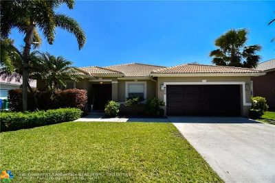 Coral Springs Single Family Home Backup Contract-Call LA: 10904 NW 56th Ct