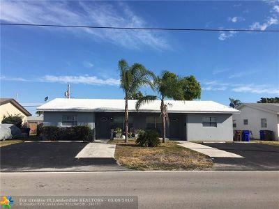 Deerfield Beach Multi Family Home Backup Contract-Call LA: 9-11 SE 15 Street
