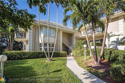 Boca Raton Condo/Townhouse For Sale: 1299 S Ocean Blvd #T1