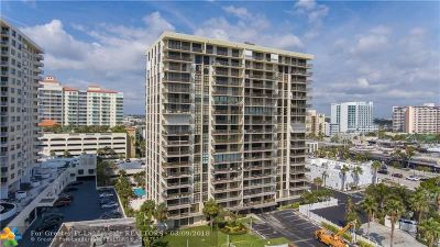 Condo/Townhouse For Sale: 3031 N Ocean Blvd #1401