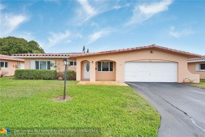 Deerfield Beach Single Family Home For Sale: 4360 NW 12th Dr