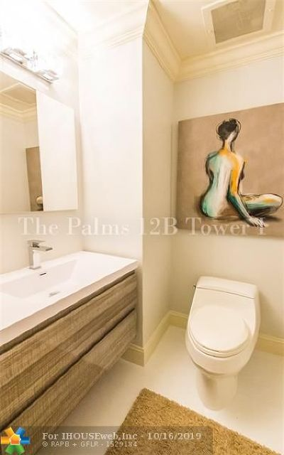Fort Lauderdale Condo/Townhouse For Sale: 2100 N Ocean Blvd #12B