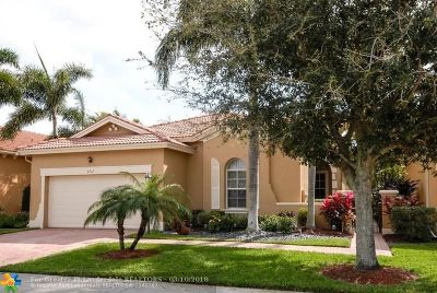 Coral Springs Single Family Home For Sale: 5737 NW 120th Ter