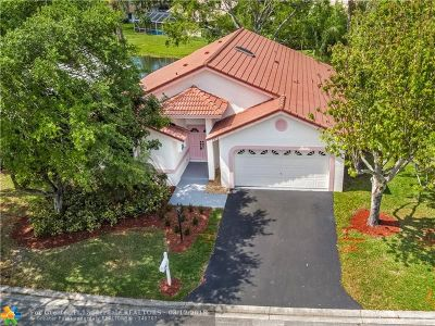 Coral Springs Single Family Home Backup Contract-Call LA: 4876 NW 103rd Dr