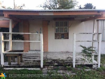Pompano Beach Single Family Home Backup Contract-Call LA: 1464 NE 28th St