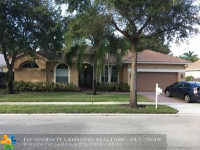 Pembroke Pines Single Family Home For Sale: 12617 NW 23rd St