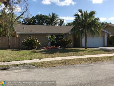 Fort Lauderdale Single Family Home For Sale: 2400 NW 67th Ct