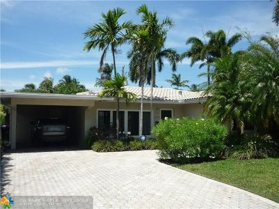 Fort Lauderdale Single Family Home For Sale: 1513 NE 18th St
