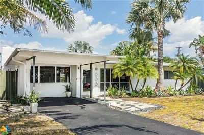 Wilton Manors Single Family Home For Sale: 633 NW 30th Court
