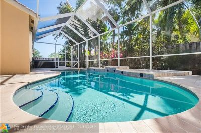 Coconut Creek Single Family Home For Sale: 4218 NW 41st Ln
