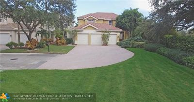 Coral Springs Single Family Home For Sale: 12480 NW 62nd Ct