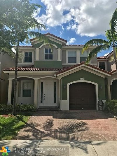 Doral Single Family Home For Sale: 8138 NW 114th Pl