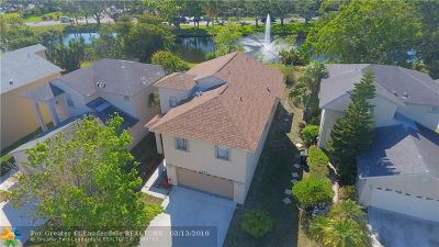 Coconut Creek Single Family Home For Sale: 2361 NW 34th Ter