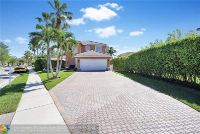 Coral Springs Single Family Home For Sale: 4735 NW 120th Way
